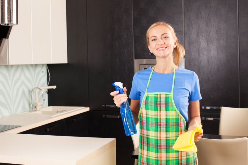 Kitchen cleaning in a schedule is easier!